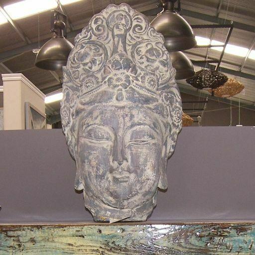 Escultura Cabeza Buda