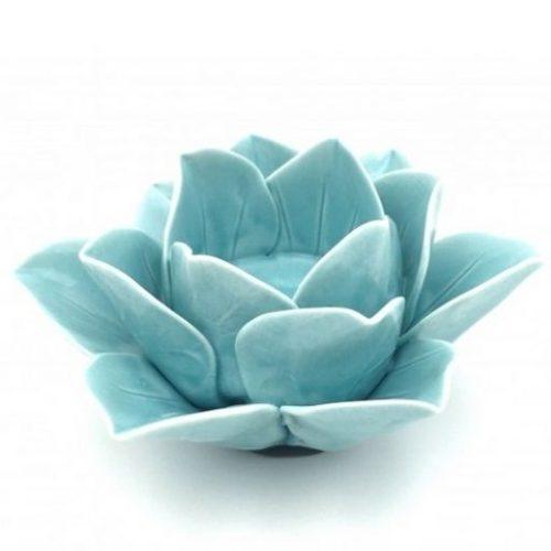 portavelas de ceramica