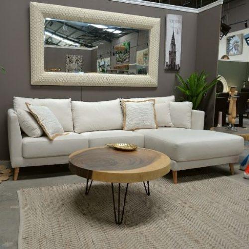 Sofa Chaise Longue Blanco