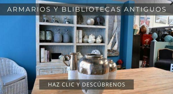 armarios y blibliotecas antiguas